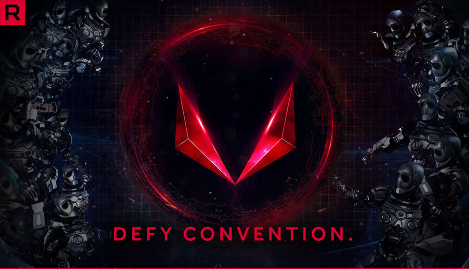 Radeon RX Vega. Defy Convention.