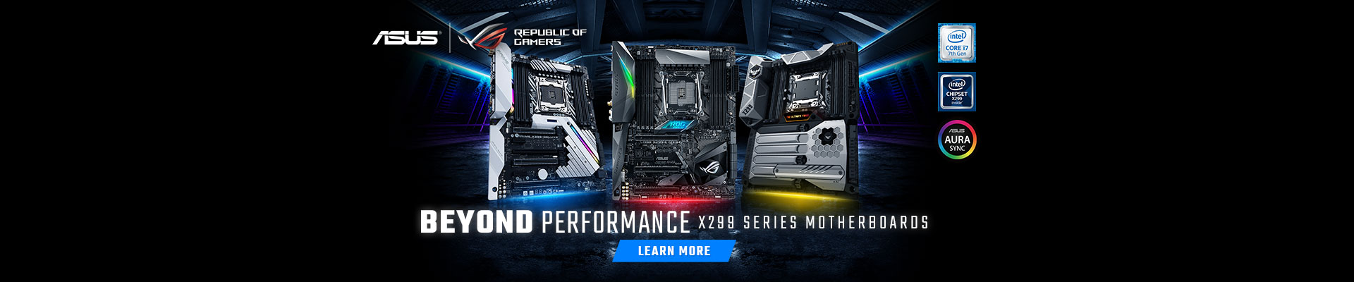 ASUS ROG X299 Motherboards