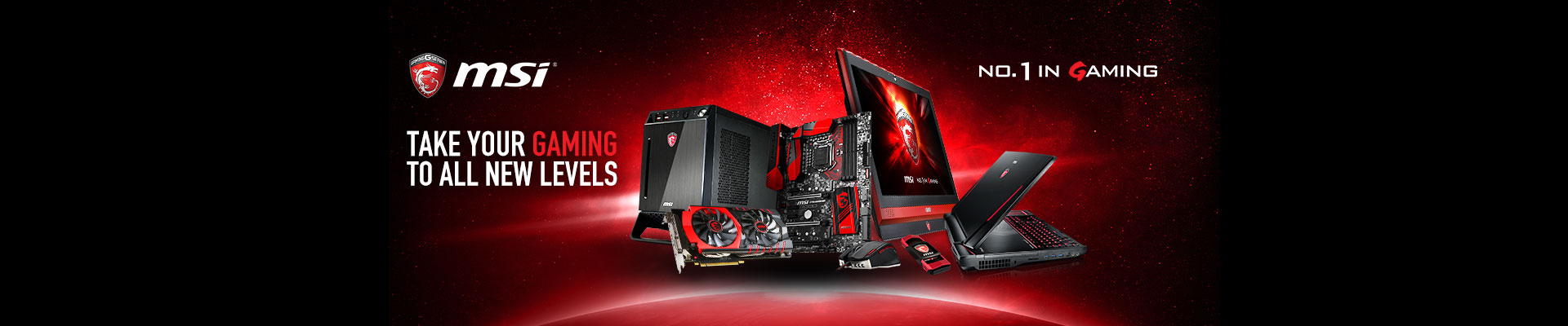MSI No.1 in Gaming