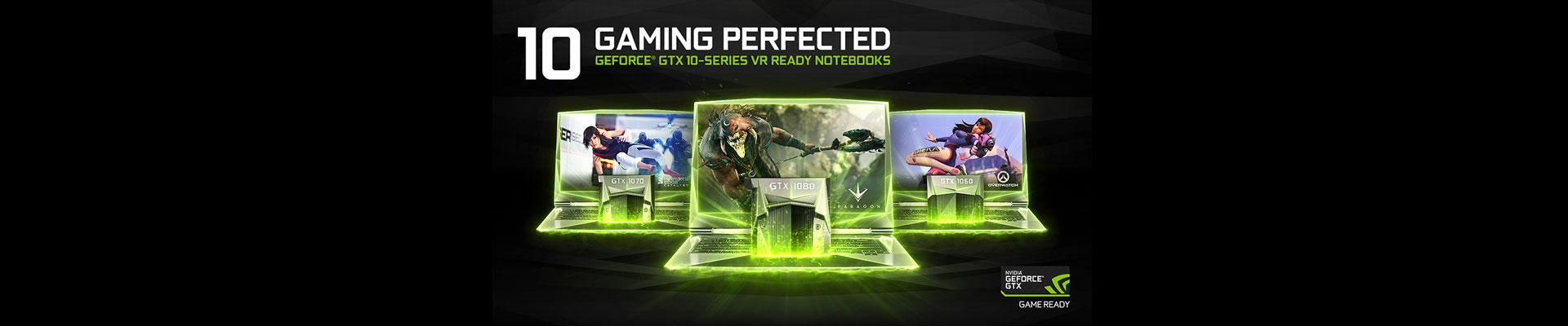 Nvidia Nvidia GeForce GTX 10 Notebooks