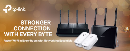 TP-Link Stonger Connection with Every Byte