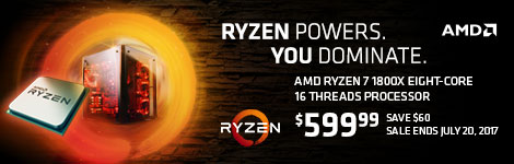 AMD Ryzen 7 1800X Eight-Core CPU