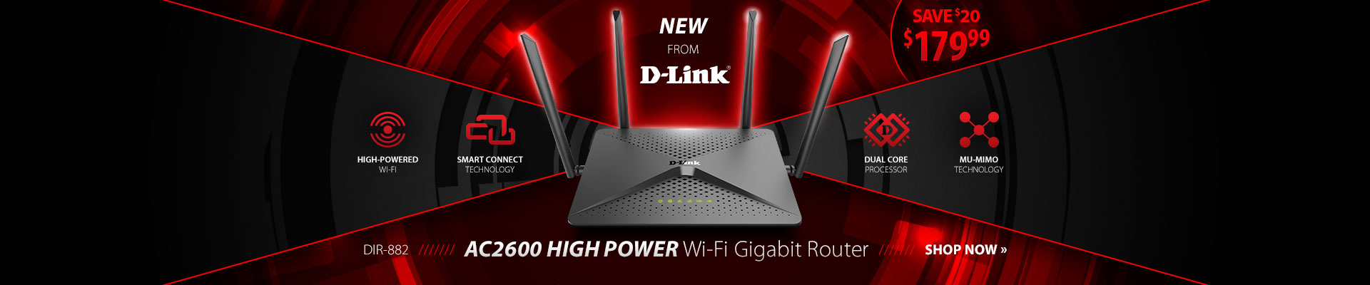 D-Link AC2600 Router