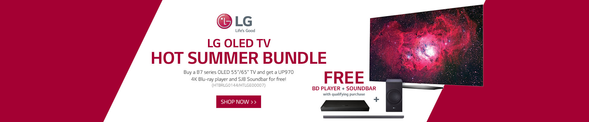 LG TV Bundle
