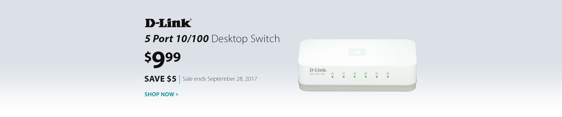 D-Link Desktop Switch
