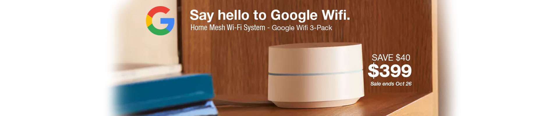 Google Wi Fi 3-Pack NLS-1304-25 White