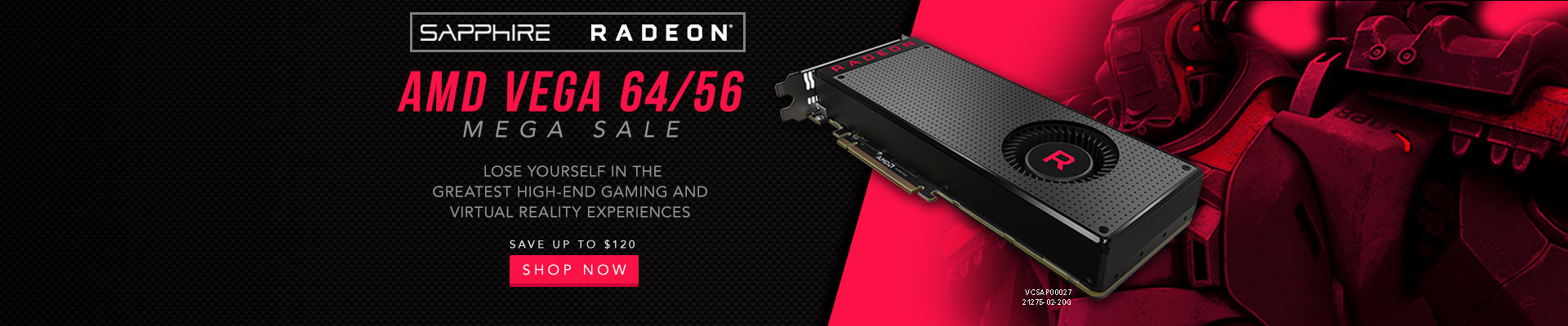 AMD VEGA 64/56 Mega Sales