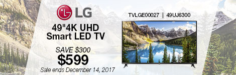 LG 4K 49inch Smart LED TV