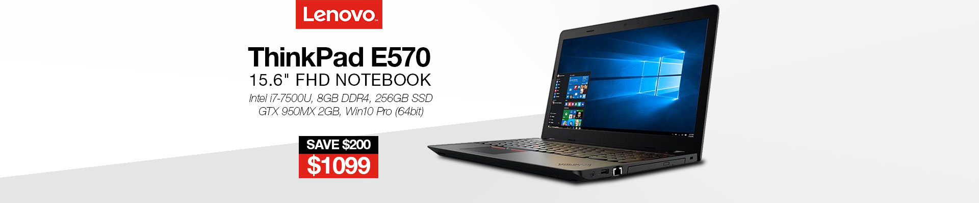 Lenovo ThinkPad E570 Notebook