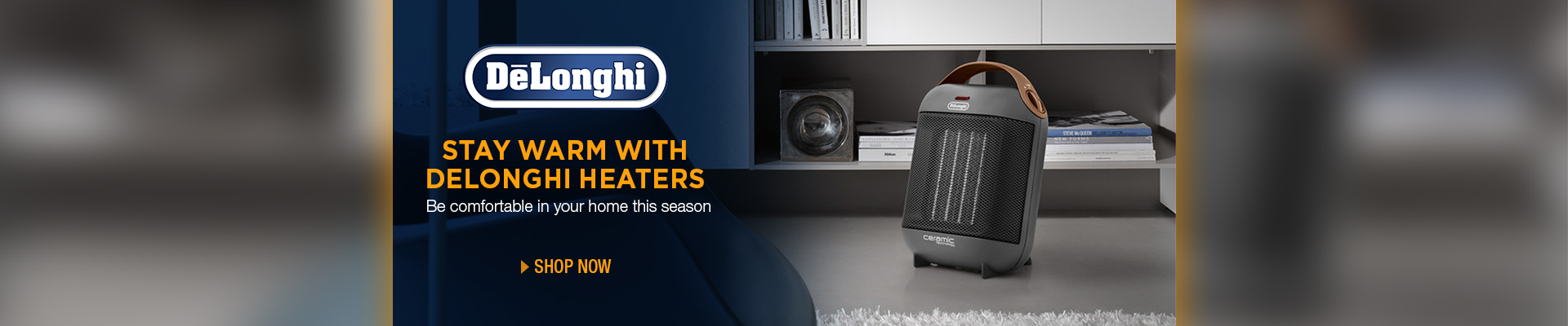 Delonghi Heaters Promo