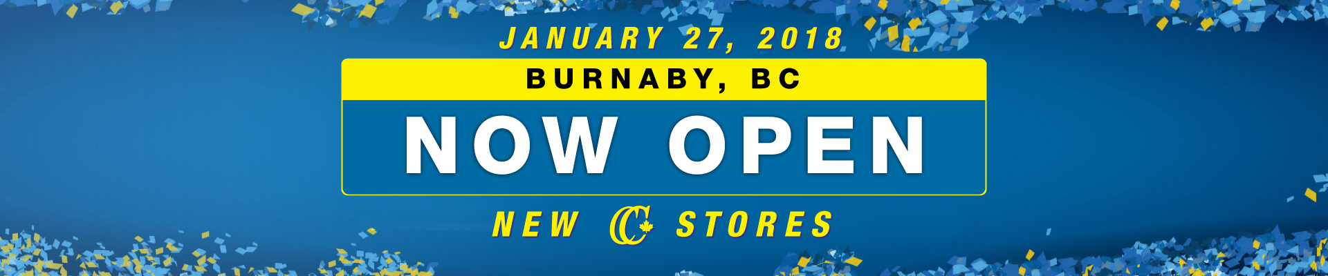 Burnaby Now Open