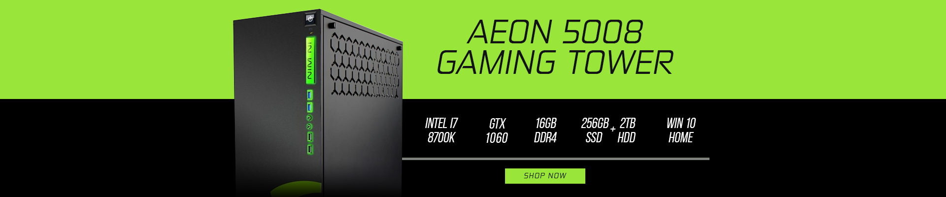 RTGS - Aeon 5008 Gaming Tower
