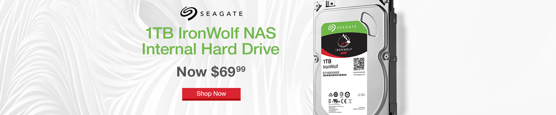 Seagate Ironwolf Drives