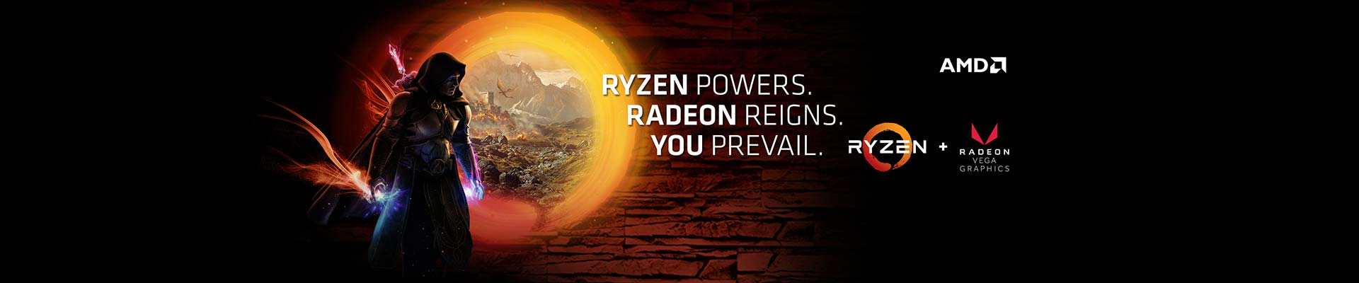 AMD RYZEN 3 & 5 with VEGA
