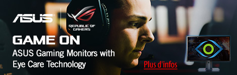 ASUS Gaming Monitors with Eyecare Technology