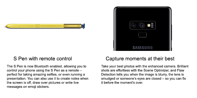 Samsung Galaxy Note 9 - 6 4