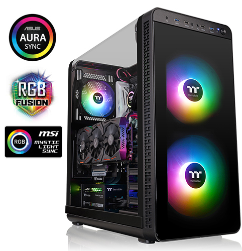 Thermaltake View 37 ARGB Edition Mid-Tower Case | Canada Computers
