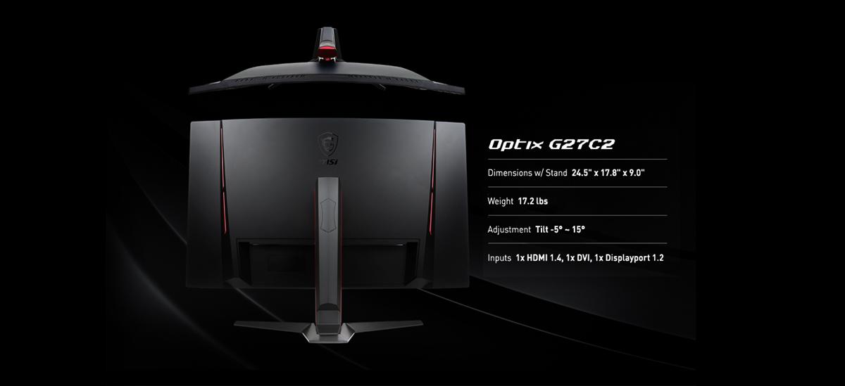 MSI Optix G27C2 27