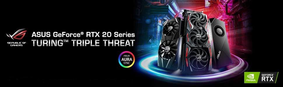 ASUS GeForce RTX 2080 O8G ROG STRIX OC Edition GDDR6